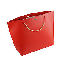 Подарочный пакет, Красный XL