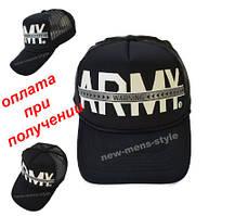 Мужская женская жіноча чоловіча модная кепка бейсболка ARMY блайзер