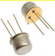 2Т638А (Au) транзистор NPN универсальный (h21э >200) (UКБ0 max.=120в) (ТО5) 5-я приемка