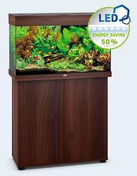 Аквариум прямоугольный небольшой Juwel (Джувел) RIO 125 LED, коричневый 125 литров