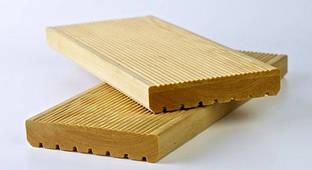 Доска для террасы лиственница 27х140 Экстра, террасный пол