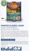 Pinotex Classic 10л - деревозащитное средство