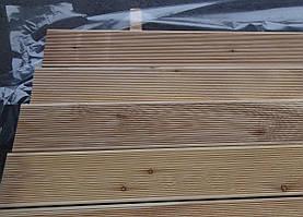 Терраса доска 27х140х4000, СОРТ А, Сибирская лиственница, деревянная терраса