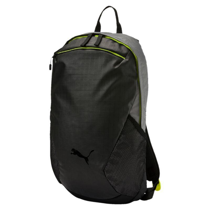 Рюкзак спортивный Puma Ultimate 075093 02 (черный с серым, отсек под ноутбук или планшет, 18 л, логотип пума)