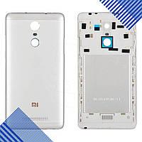 Задняя крышка для Xiaomi Redmi NOTE 3, цвет серебро