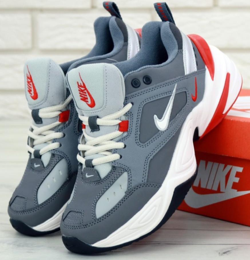 Мужские кроссовки Nike M2K Tekno Monarch Grey