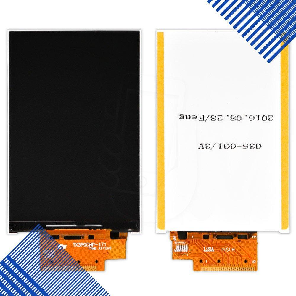 Дисплей для телефона Alcatel One Touch 4009D, копия высокого качества