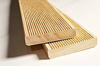 Доска террасная Лиственница Сибирская 27х140 мм, терраса из лиственницы, фото 1