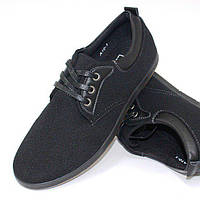 Мокасины мужские на шнурках, фото 1