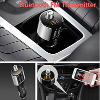 Автомобильный трансмиттер ФМ модулятор FM трансмиттер Bluetooth модулятор ресивер MP3 FM USB SD LCD