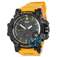 Наручные мужские часы Casio G-Shock MTG-G1000 Black-Orange Wristband