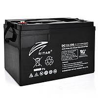Аккумуляторная батарея RITAR CARBON DC12-100C 12V 100Ah