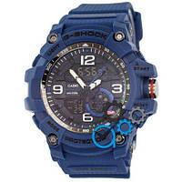 Наручные мужские часы Casio G-Shock GG-1000 All Blue-Black