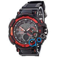 Наручные мужские часы Casio G-Shock Red Bull Black-Red New