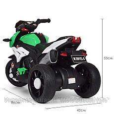 Детский электромотоцикл BAMBI  M 3991E-5, фото 3