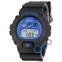 Наручные мужские часы Casio G-Shock DW-6900 Black-Blue