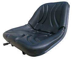 Сидіння до трактора (суцільне, пас), (кол. чорний)