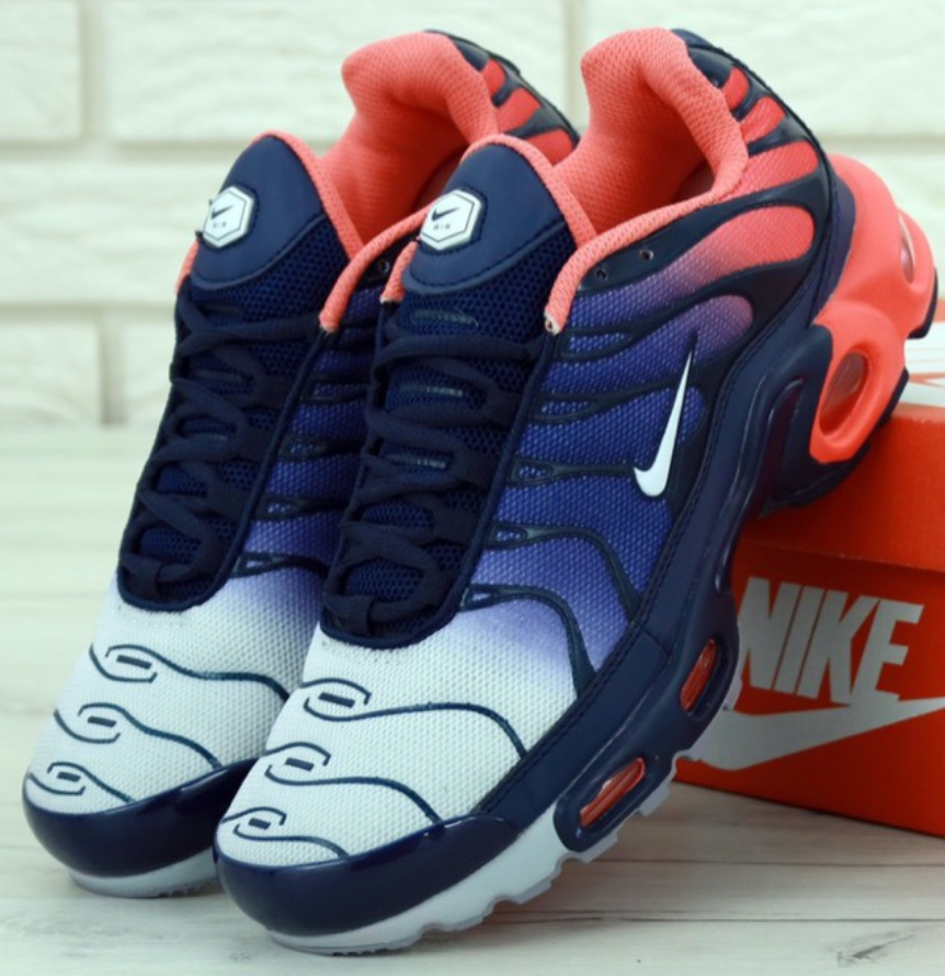 Мужские кроссовки Nike Air Max TN Plus Blue Red