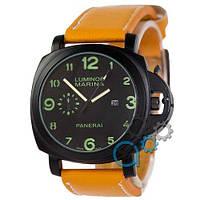 Наручные мужские часы Panerai Luminor Marina 1706 Light-Brown-Black
