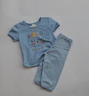 Пижама для девочки YAROSLAV 92 (26) голубой