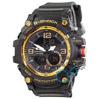 Наручные мужские часы Casio G-Shock GG-1000 Black-Gold