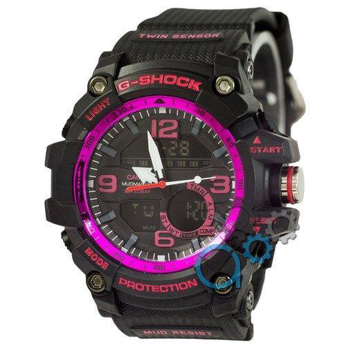 Наручные мужские часы Casio G-Shock GG-1000 Black-Violet
