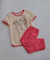 Пижама, футболка с брюками YAROSLAV 134 Розовый