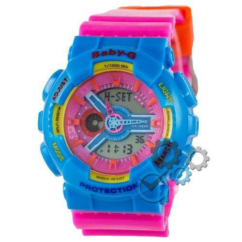 Наручные мужские часы Casio Baby-G GA-110 Turquoise-Rose