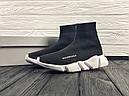 Кроссовки черные BALENCIAGA Speed trainer 37-45, фото 2