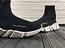 Кроссовки черные BALENCIAGA Speed trainer 37-45, фото 3