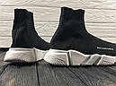 Кроссовки черные BALENCIAGA Speed trainer 37-45, фото 4