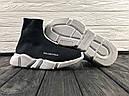 Кроссовки черные BALENCIAGA Speed trainer 37-45, фото 6