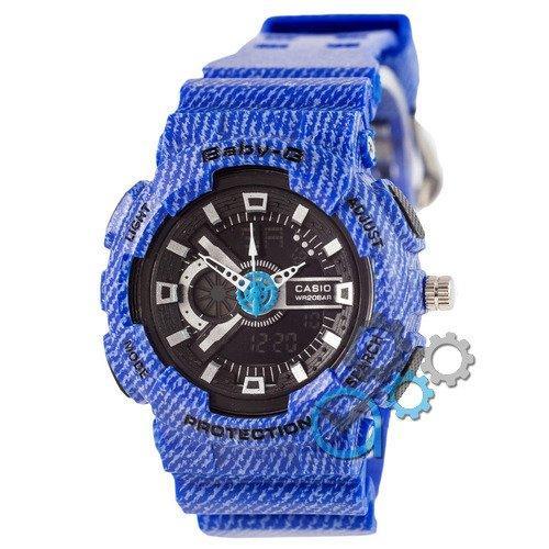Наручные мужские часы Casio Baby G GA-110 Jeans Blue