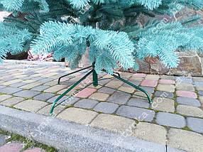 Литая елка Елитная 2.10м. голубая (Бесплатная курьерская доставка), фото 3