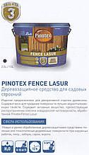 PINOTEX FENCE 10л - атомосферостойкое деревозащитное средство для пиленной древесины
