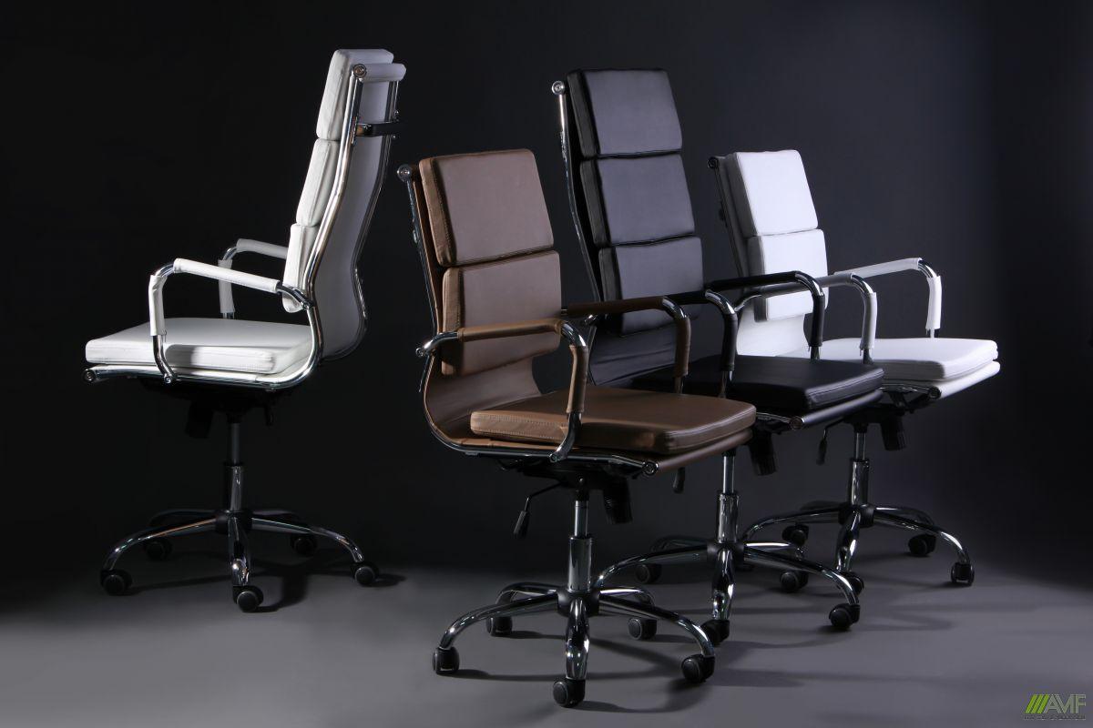 Кресло Slim FX HB (XH-630A) черный TM AMF, фото 10