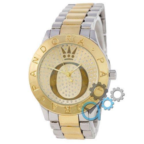 Наручные женские часы Pandora 1092 Diamonds Silver-Gold