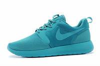 Женские кроссовки Nike Roshe Run Hyperfuse 3M Deepskyblue, фото 1