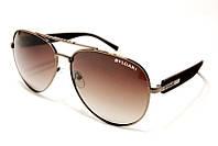 Модные брендовые солнцезащитные очки с поляризацией Bvlgari P317 C3