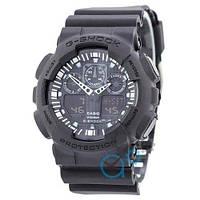 Наручные мужские часы Casio G-Shock GA-100 All Black
