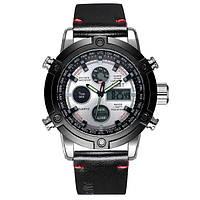 Наручные мужские часы AMST 3022 Silver-Black-Silver Smooth Wristband