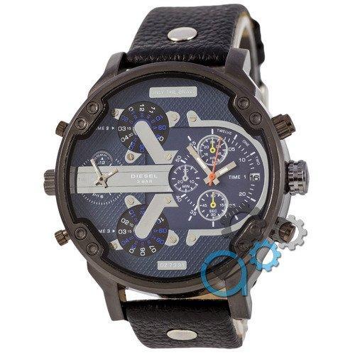 Наручные мужские часы Diesel DZ7314 All Black-Blue-Silver