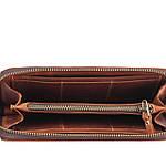 Кошелек клатч из натуральной винтажной кожи женский VS14, фото 2