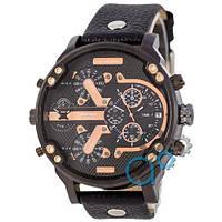 Наручные мужские часы Diesel DZ7314 All Black-Cuprum