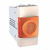 Индикатор оранжевый 1-модульный Слоновая кость Schneider Electric Unica (MGU3.775.25A)