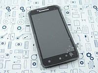Дисплей Lenovo A328 5D19A6N2BU модуль черный Сервисный оригинал с разборки