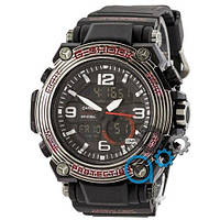 Наручные мужские часы Casio G-Shock MRG-500 Black-Red