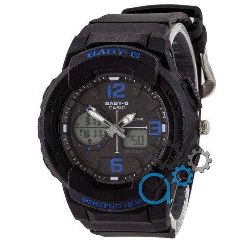 Наручные мужские часы Casio Baby G BGA-230 G Black-Blye
