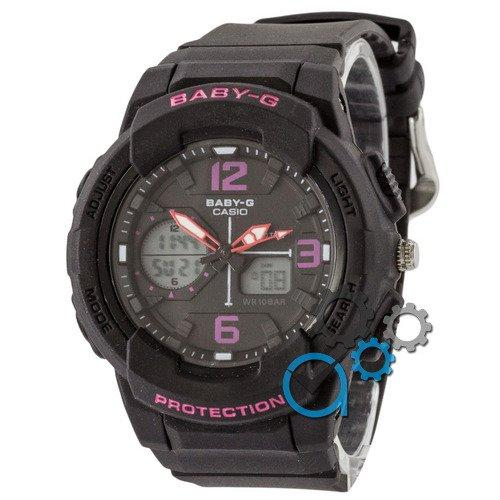 Наручные мужские часы Casio Baby G BGA-230 G Black-Pink