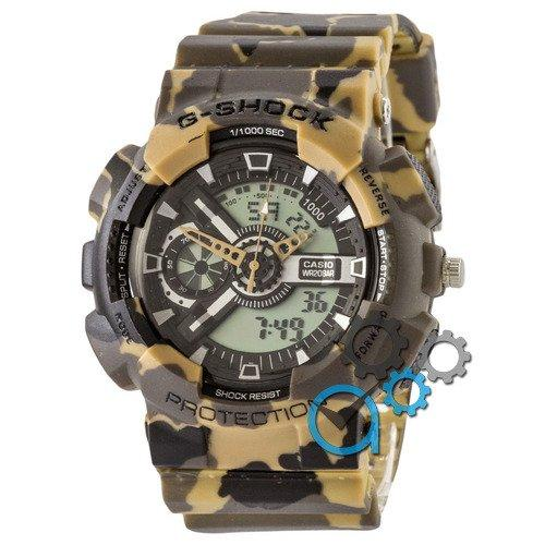 Наручные мужские часы Casio G-Shock GA-110 G Military Brown